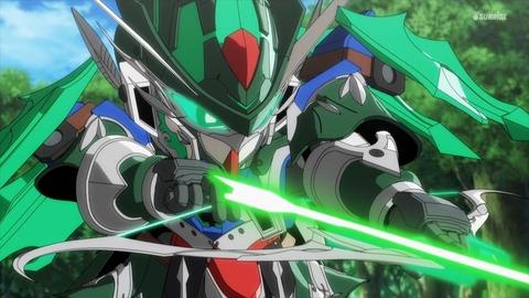 SDガンダムワールドヒーローズ 第8話 感想 ネタバレ 426