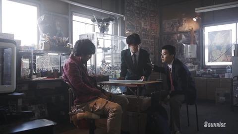 ガンダムビルドリアル 第3話 感想 ネタバレ 225