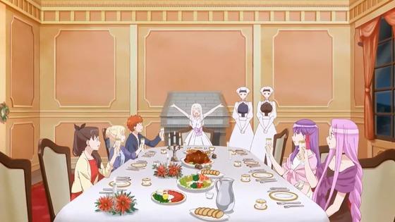 『衛宮さんちの今日のごはん 第12話 感想』セラとリズとクリスマス奮発ごはん!?