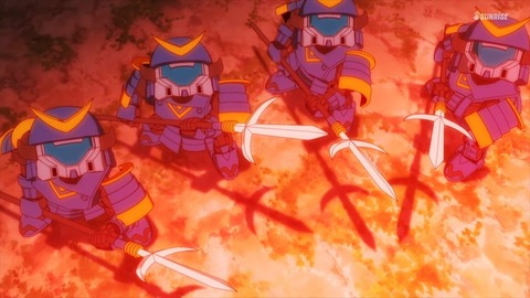 SDガンダムワールドヒーローズ 第6話 感想 ネタバレ 472