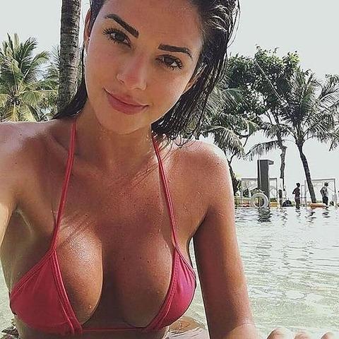 欧米系外国人水着美女のビーチセクシー画像集