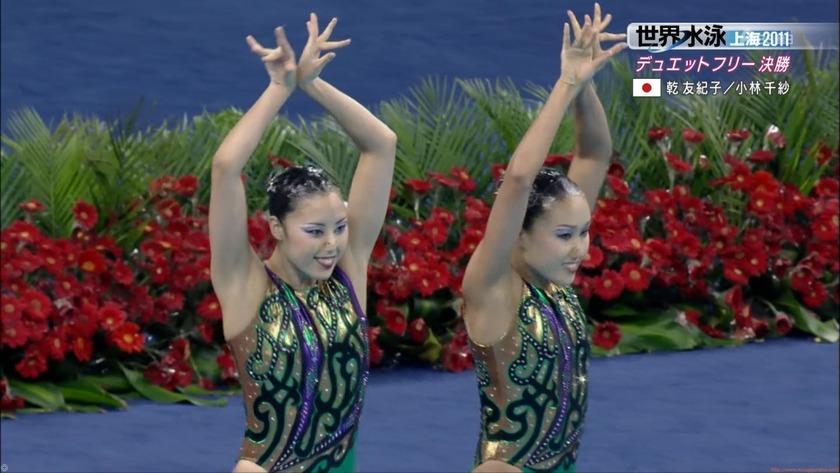 2011世界水泳シンクロデュエットフリー決勝60