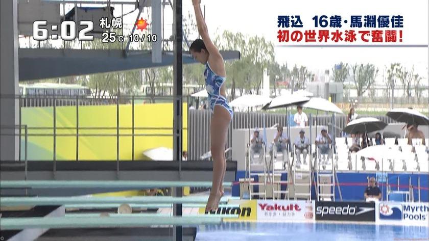 2011世界水泳 女子飛板飛込3M予選・準決勝13