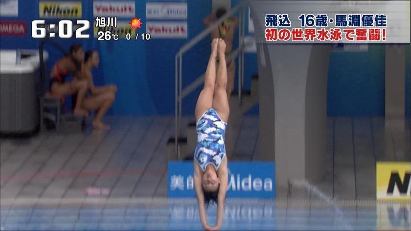 2011世界水泳 女子飛板飛込3M予選・準決勝18