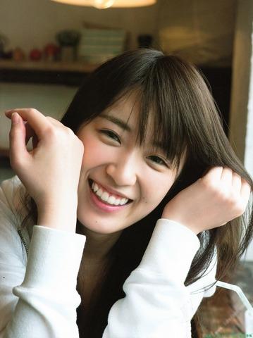 高山一実の笑顔