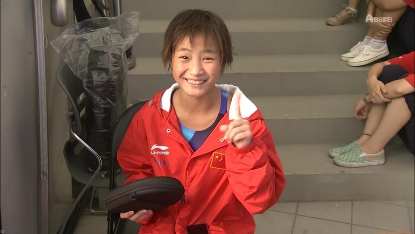 2011世界水泳 飛込女子10M決勝キャプチャー画像「16枚」競泳水着