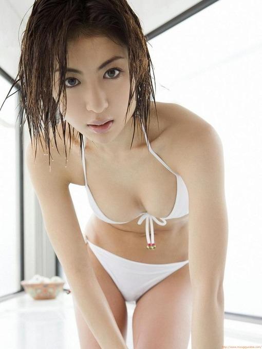 Fカップ 台湾在住の元グラドル 大久保麻梨子水着ビキニ画像「76枚」