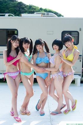 SUPER☆GiRLS(スーパーガールズ)の水着ビキニグラビア「17枚」