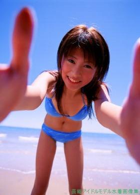 ミスマガジン2004 グランプリ・小阪有花水着グラビア14枚