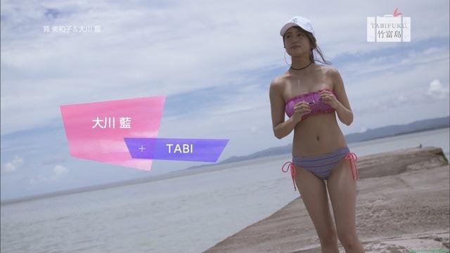 タビフク 筧美和子&大川藍 竹富島 小浜島水着ビキニ画像「60枚」