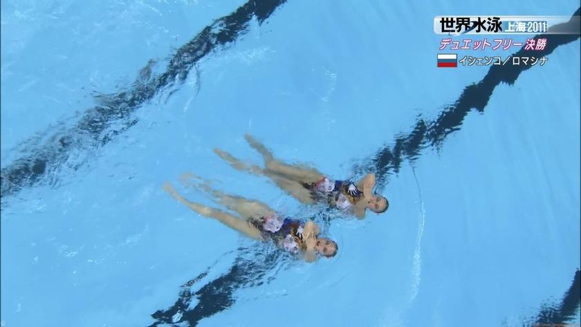 2011世界水泳 シンクロデュエットフリー決勝14
