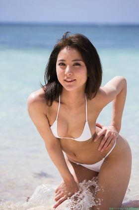 石川恋水着ビキニグラビア「40枚」画像