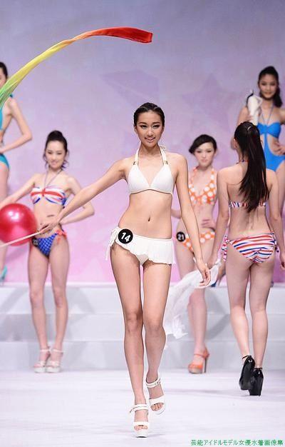 「2013年北京市職業高校モデルコンテスト」ビキニ「19枚」