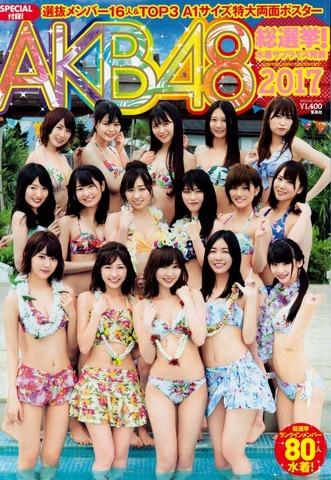 AKB48 80人の水着グラビア画像「125枚」2017年 水着サプライズ