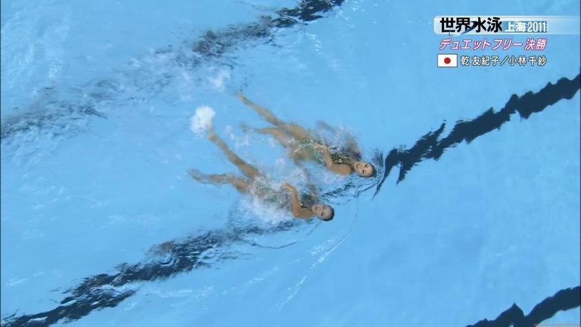 2011世界水泳シンクロデュエットフリー決勝57