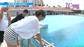 元シンクロ日本代表,青木愛競泳水着キャプチャー「18枚」