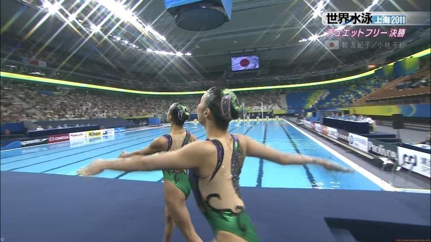 2011世界水泳シンクロデュエットフリー決勝46