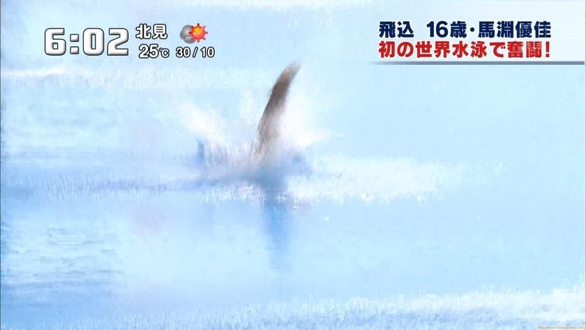 2011世界水泳 女子飛板飛込3M予選・準決勝30
