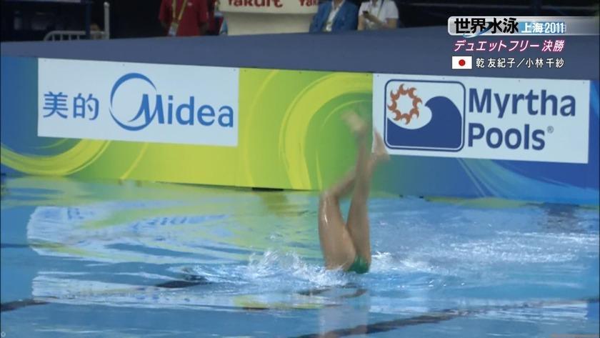 2011世界水泳シンクロデュエットフリー決勝53