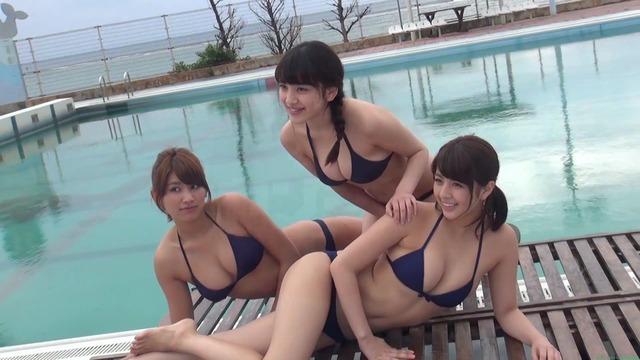 セクシー最強3人娘 柳ゆり菜・久松郁実・都丸紗也華