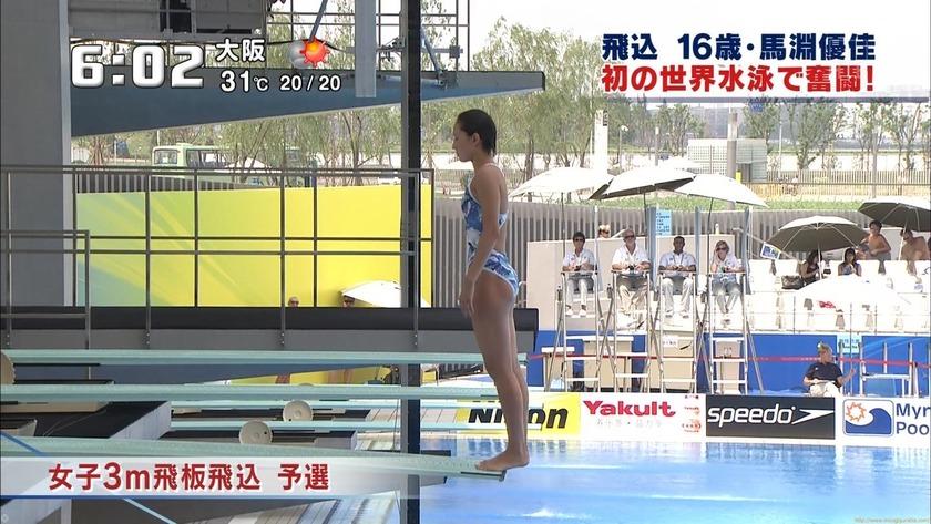 飛び込み 16歳・馬淵優佳 初の世界水泳で奮闘!「35枚」