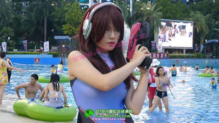 競泳水着&スクール水着 2017コスプレ二次元撮影会 ウォーターパーク i台湾
