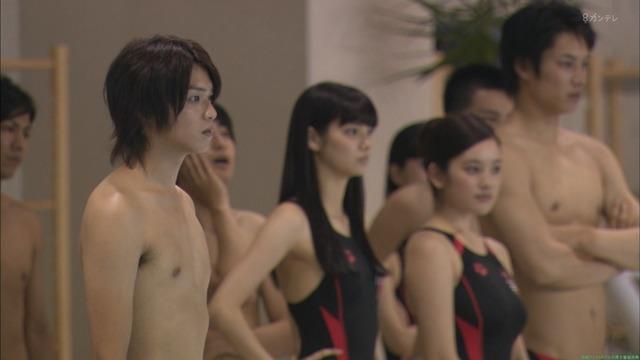 新川優愛 佐野ひなこ 大原櫻子「ドラマ」水球ヤンキースのセクシー競泳水着シーン「28枚」