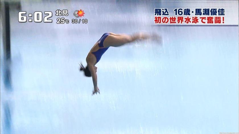 2011世界水泳 女子飛板飛込3M予選・準決勝29