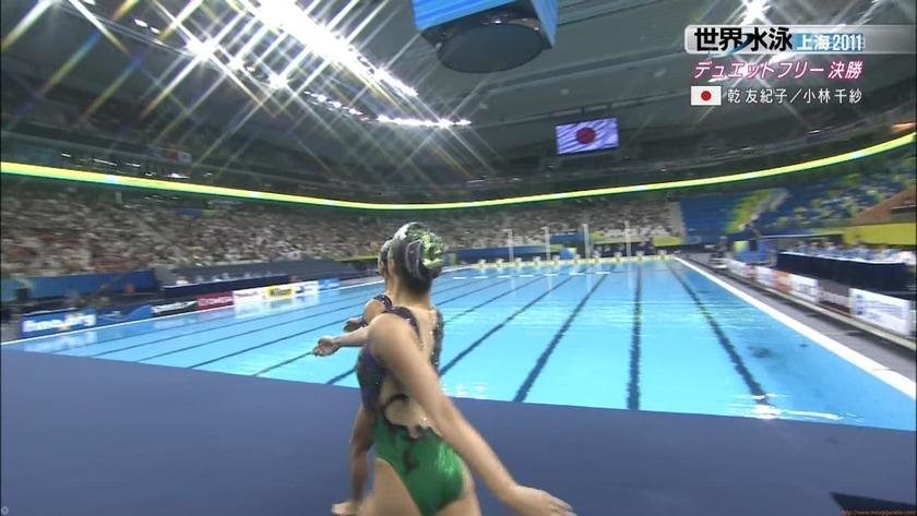 2011世界水泳シンクロデュエットフリー決勝47