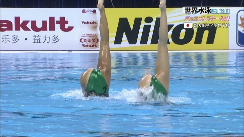 2011世界水泳シンクロデュエットフリー決勝59