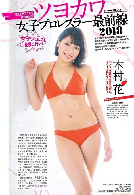 人気女子プロレスラー水着で共演