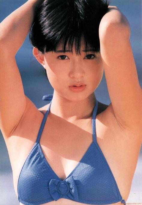 80年代アイドル 松本典子グラビア水着ビキニ画像「42枚」