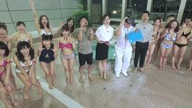 グラドル総勢24名が参加 世界初VRカメラで撮影 大水泳大会!パート1「104枚」