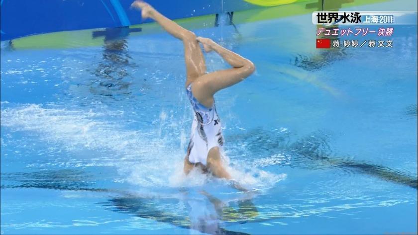 2011世界水泳シンクロデュエットフリー決勝37