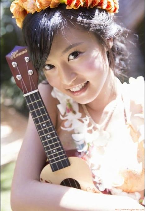 小島瑠璃子(19) ハワイで撮影したフレッシュ水着グラビア「56枚」