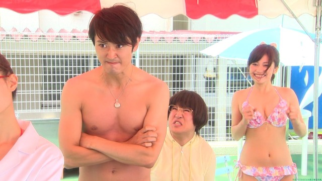 ドラマで下着水着姿を披露!大澤玲美