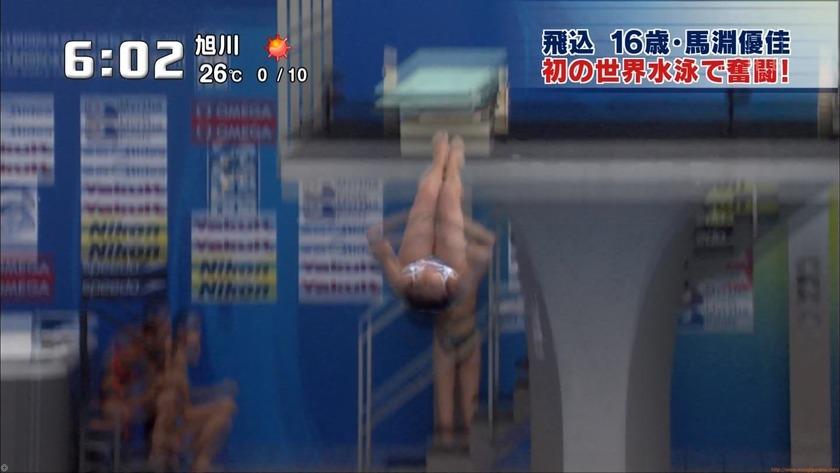 2011世界水泳 女子飛板飛込3M予選・準決勝15
