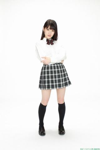 神谷えりな制服からのビキニ「46枚」仮面女子