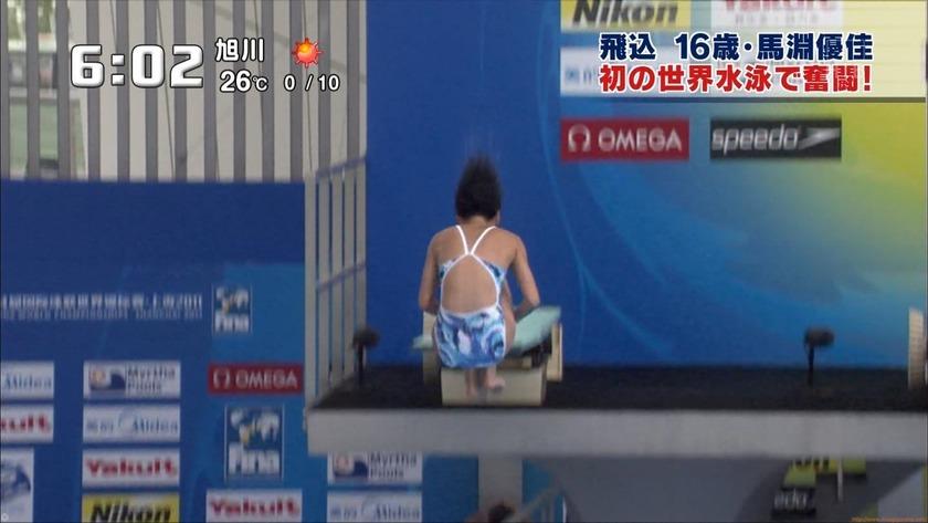 2011世界水泳 女子飛板飛込3M予選・準決勝14