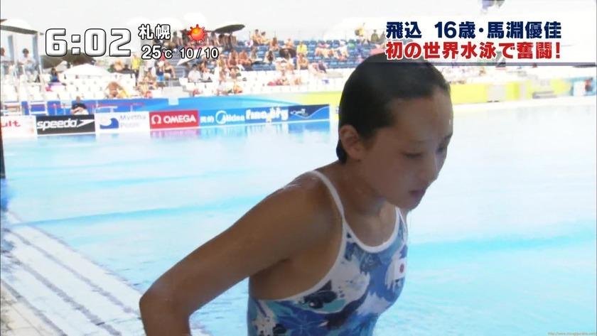 2011世界水泳 女子飛板飛込3M予選・準決勝8