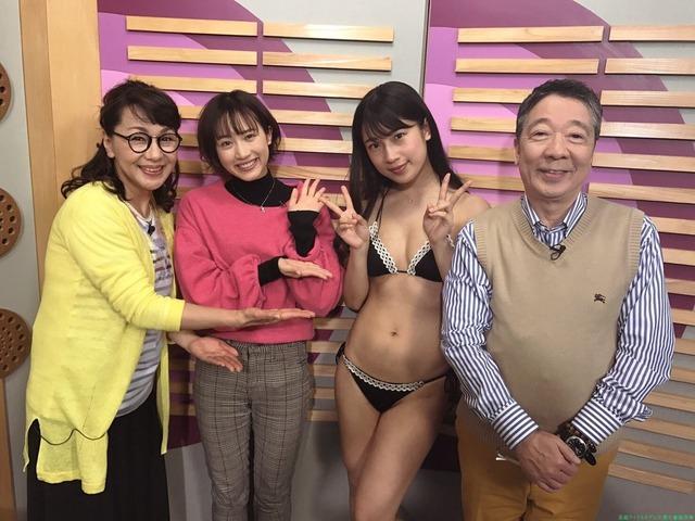水着でラジオ 笑福亭鶴光もオールナイトニッポンTV
