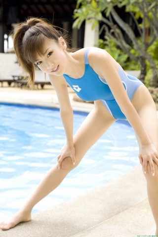 ほしのあき 競泳水着&スクール水着画像
