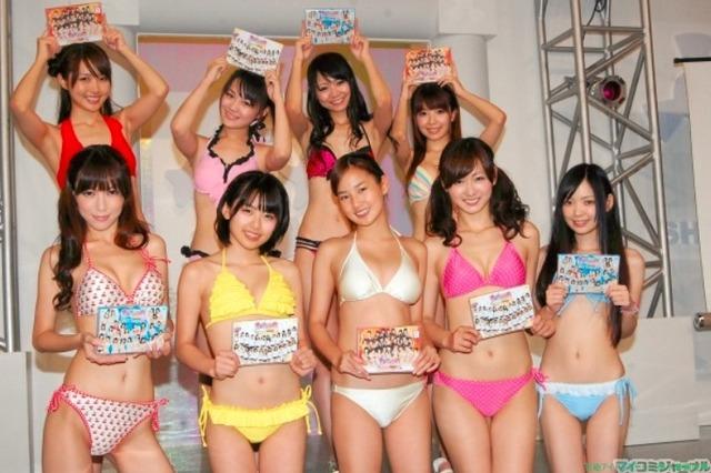 日テレジェニック2011の候補生9人の水着画像「19枚」