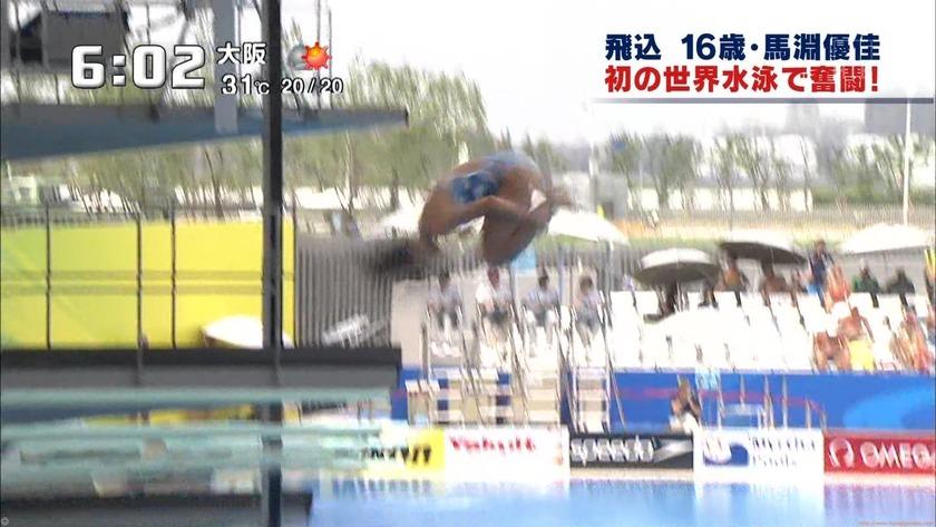 2011世界水泳 女子飛板飛込3M予選・準決勝6
