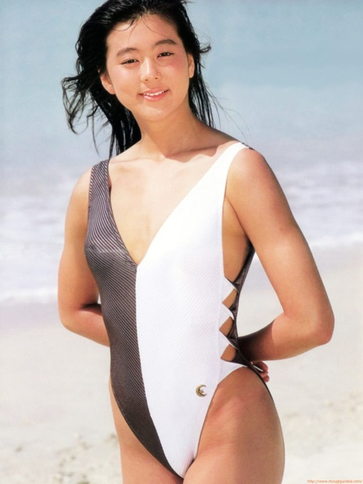 三浦 りさ子 競泳水着画像「9枚」