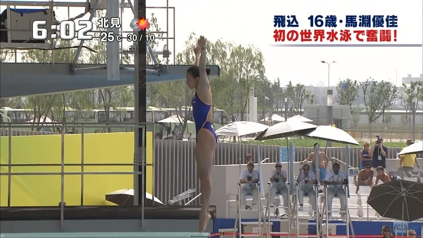 2011世界水泳 女子飛板飛込3M予選・準決勝27