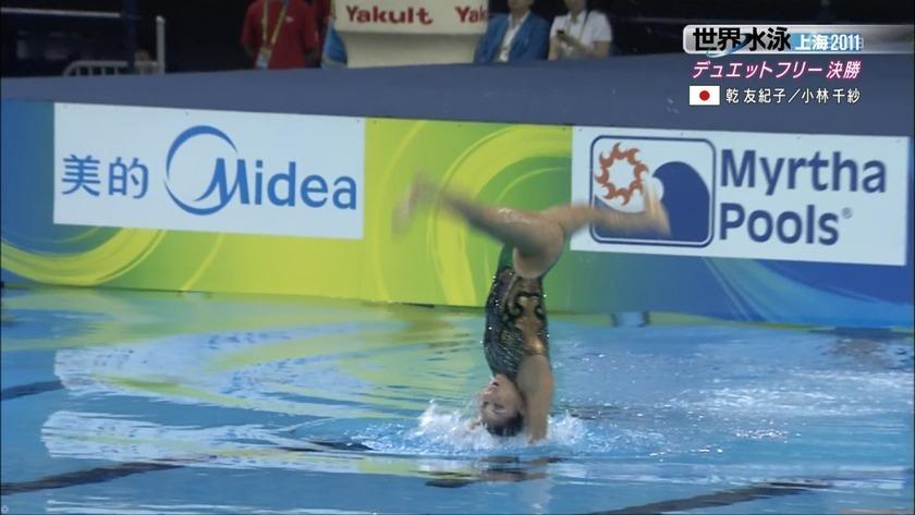 2011世界水泳シンクロデュエットフリー決勝62