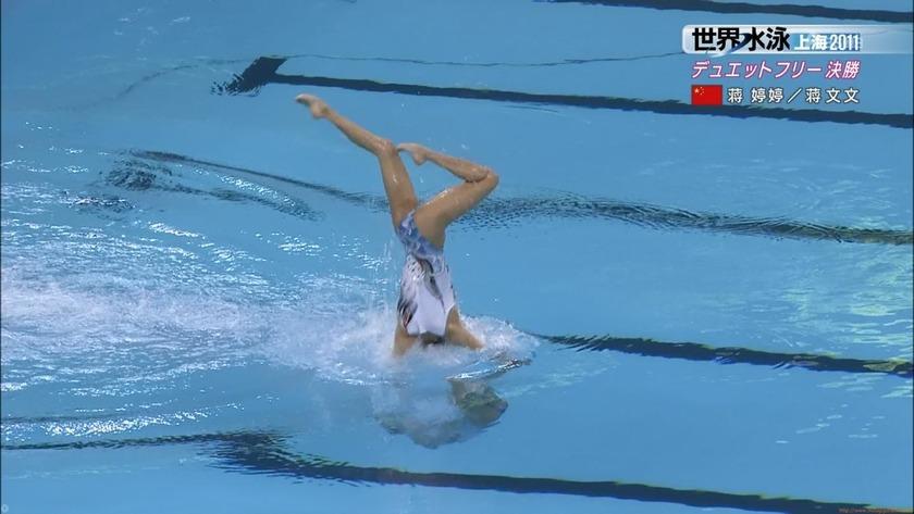 2011世界水泳シンクロデュエットフリー決勝31