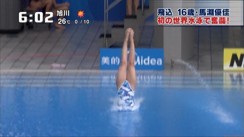 2011世界水泳 女子飛板飛込3M予選・準決勝20