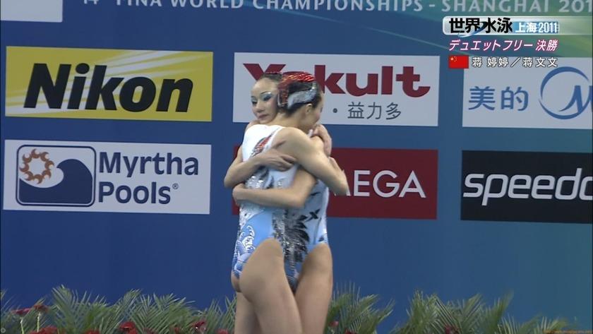 2011世界水泳シンクロデュエットフリー決勝44
